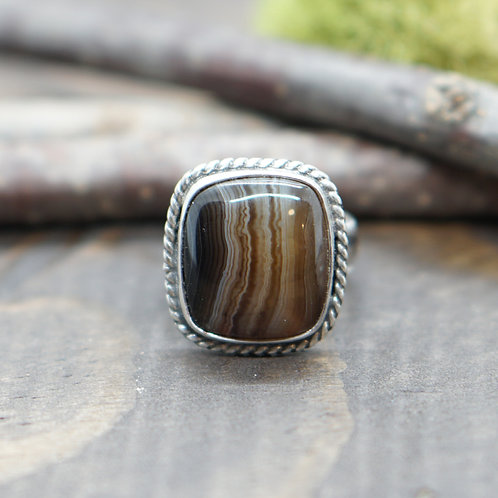Banded Agate - Size 7