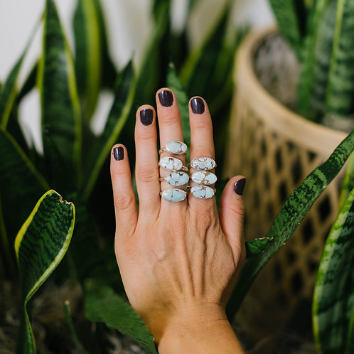 Sand Hill Turquoise Rings