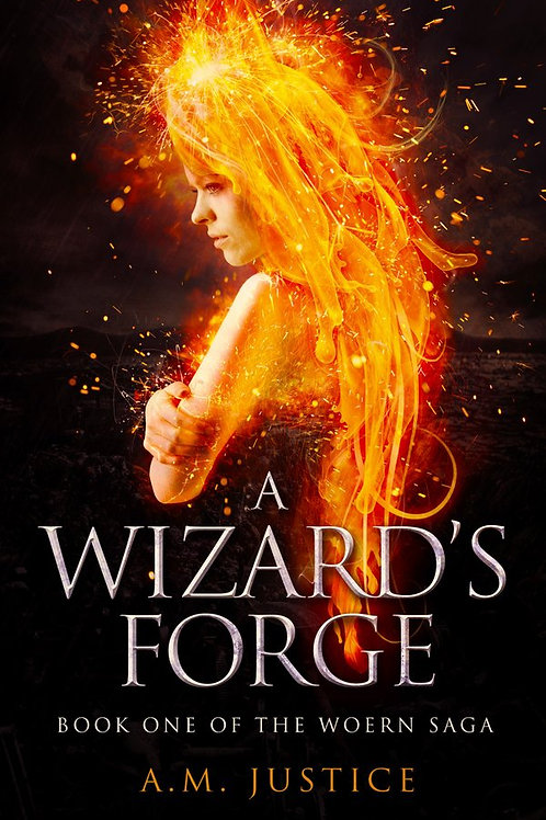 A Wizard's Forge Signed Paperback