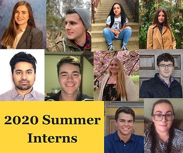 summer 2020 internship class