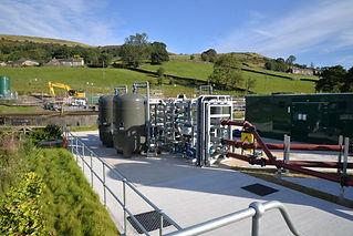 FilterClear installation @ Hayfield STW (United Utilities)