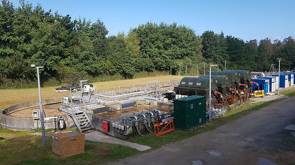 HYBACS installation @ Newquay STW (South West Water)