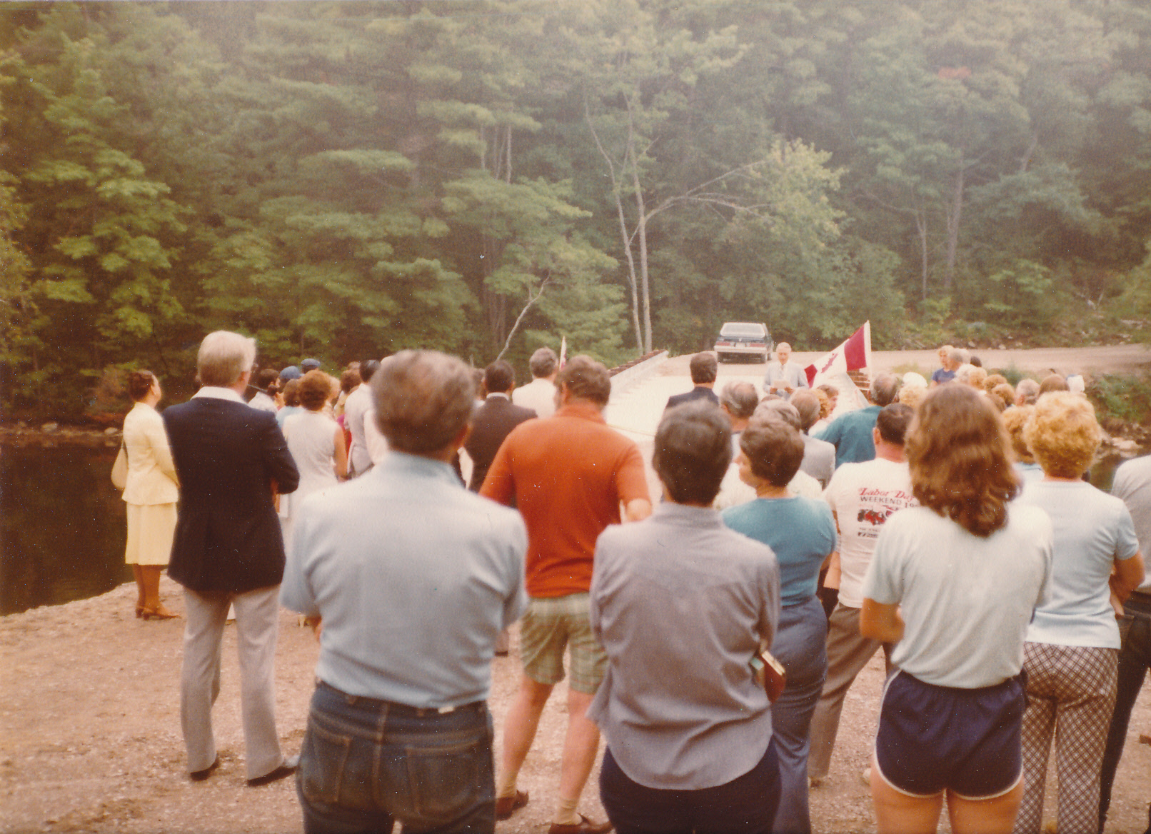 1981-08 The opening of the Second Bridge
