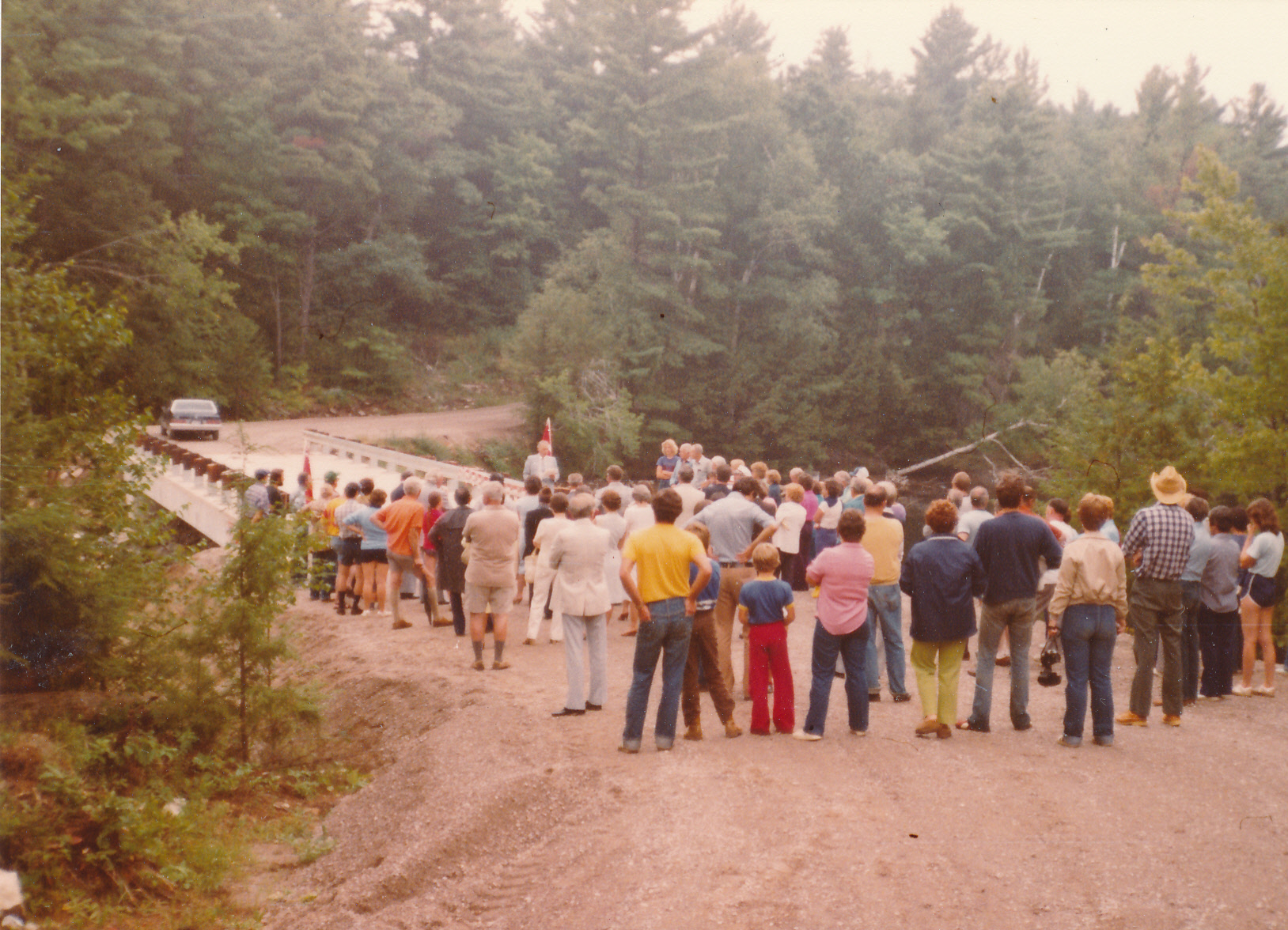 1981-08 The opening of the Second Bridge (2)