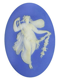 Wedgwood WSWDC Winged Zephyr Cameo