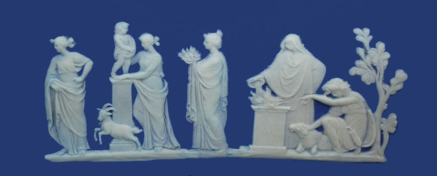 Wedgwood WSWDC Sacrifical figures plaque
