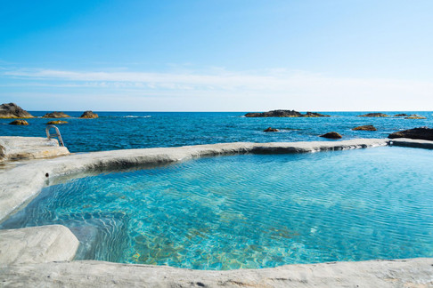 Pool und Meer