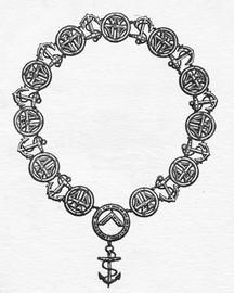 Lodge of Friendship No44 Master's Collar