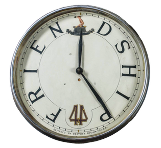 Lodge of Friendship No44 Clock