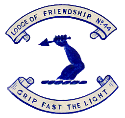 Lodge of Friendship No44 Crest 1901