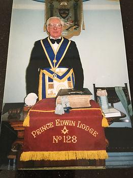 Fred Shore at Prince Edwin Lodge.JPG