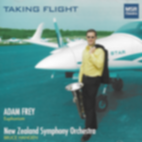 Taking Flight Adam Frey Euphonium New Zealand Symphony Orchestra Bruce Hangen conductor