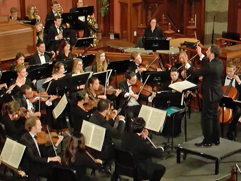 Franck Symphony and Mozart Clarinet Concerto at Boston Conservatory