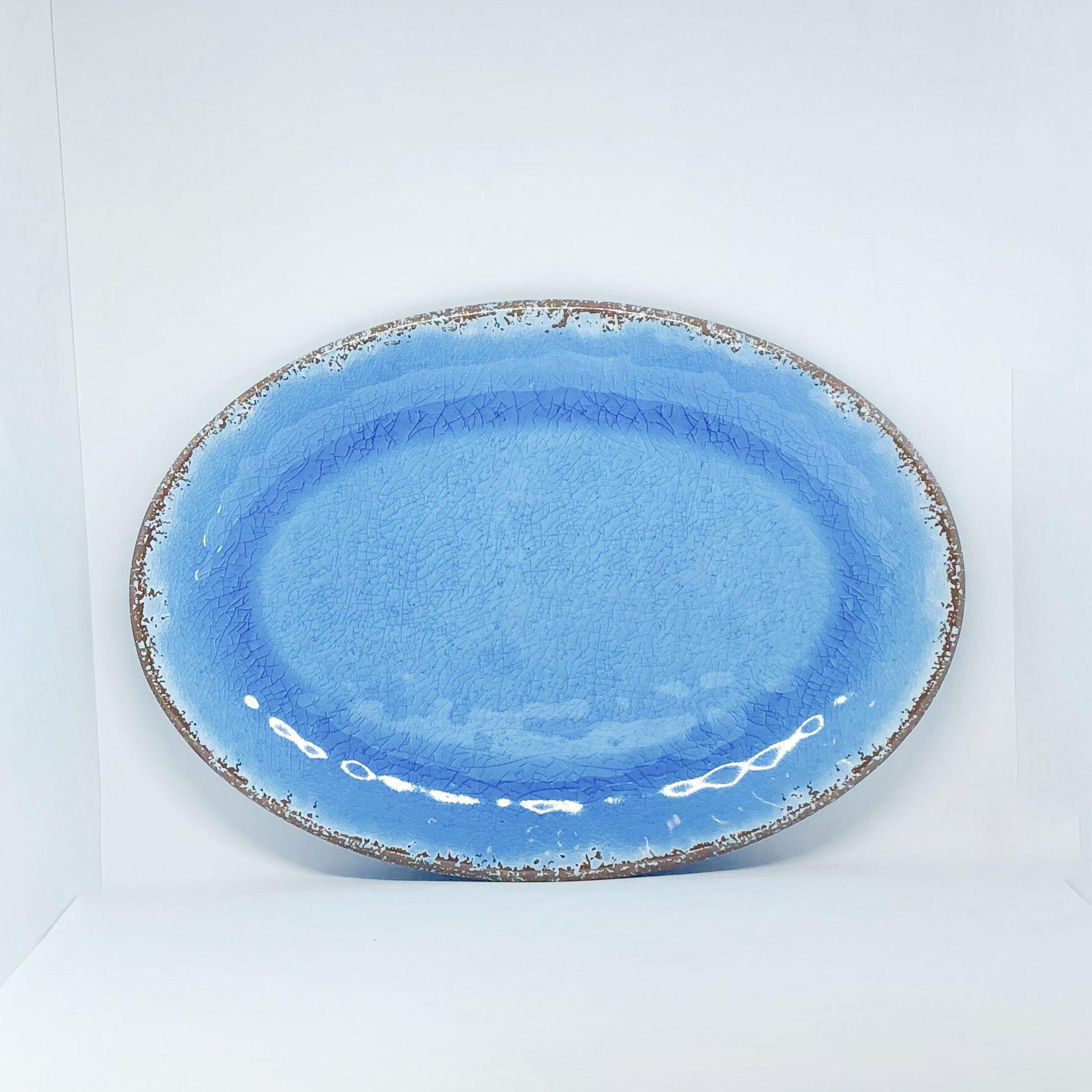 Antique Fuente azul