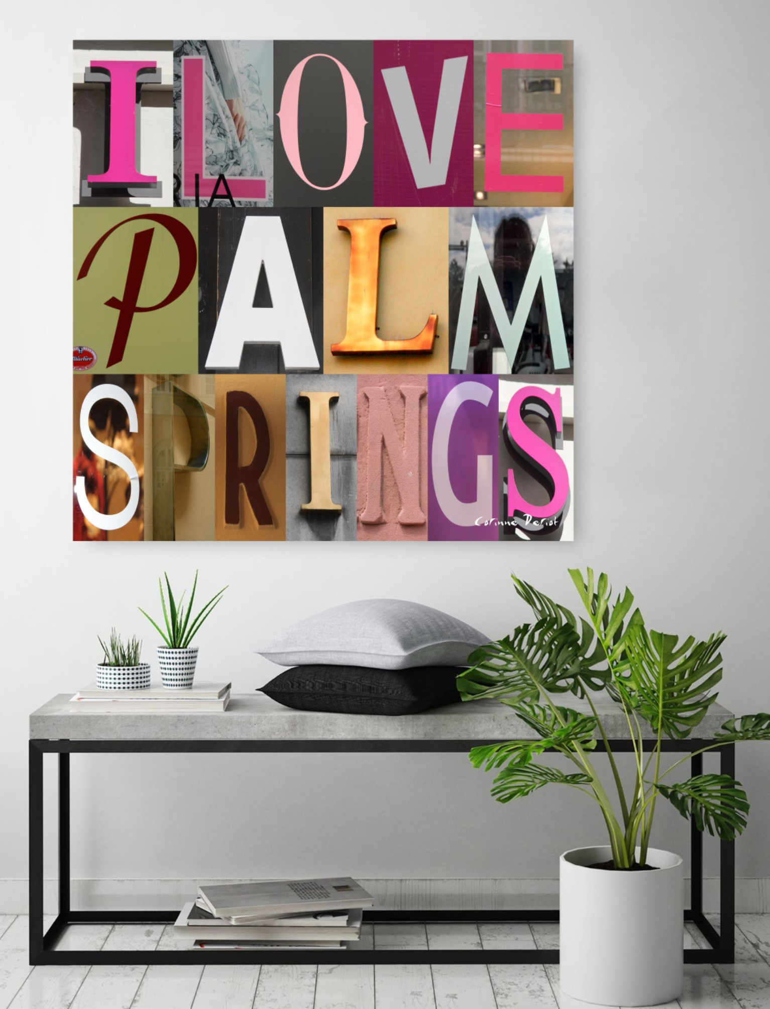 I LOVE PALM SPRINGS 01
