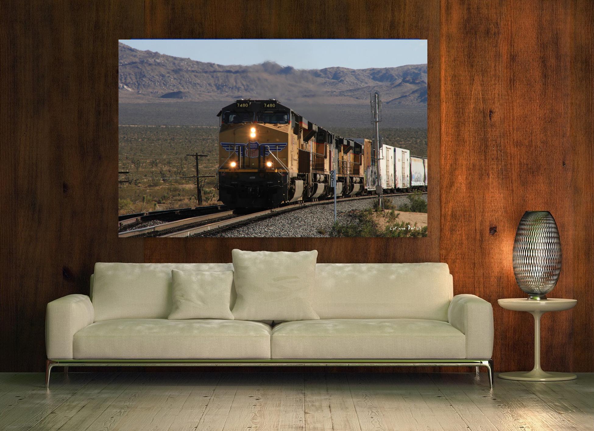 Californie - Train