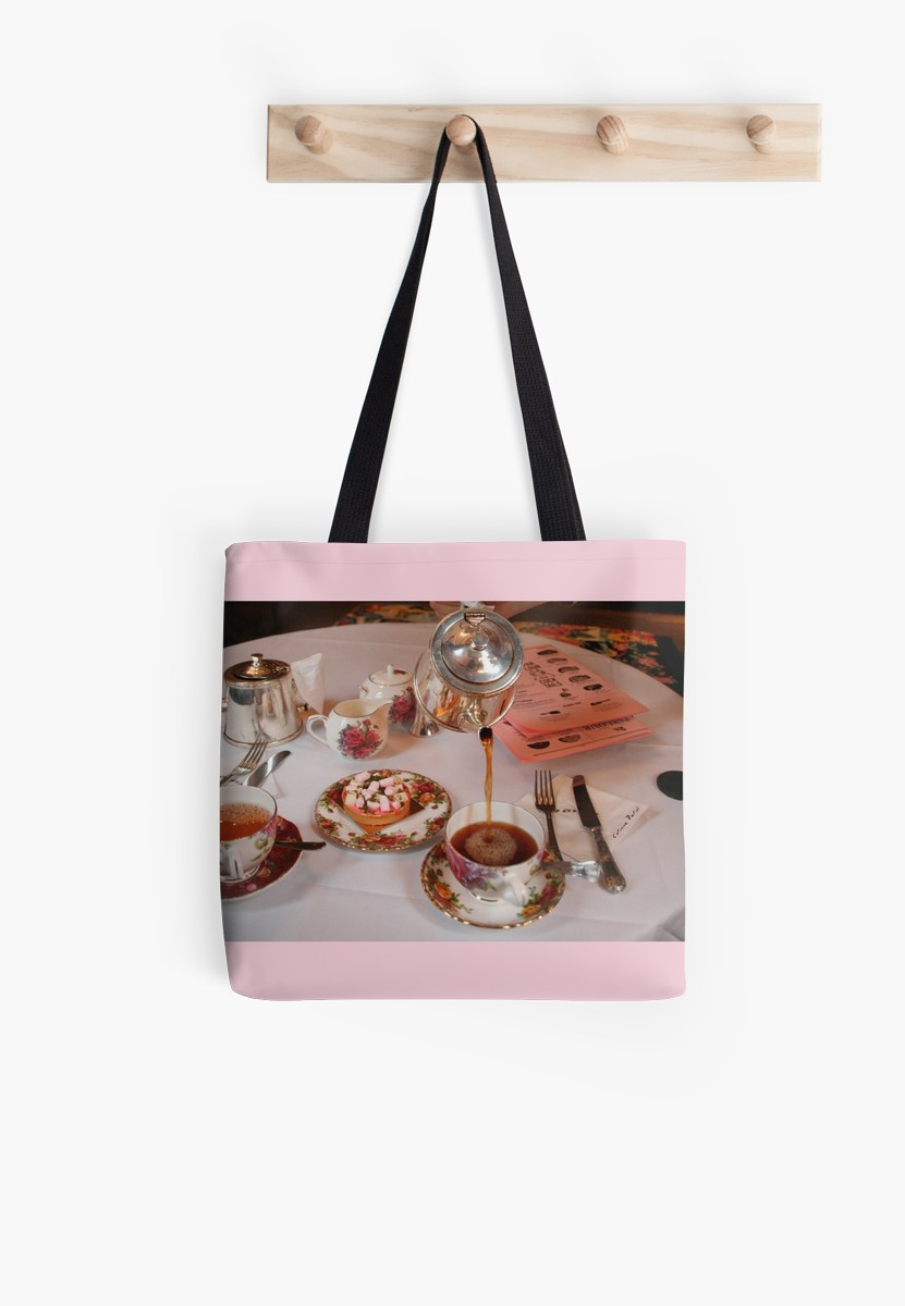 Sac Tea time in London - tote bag
