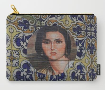 Pochette Woman in Madrid