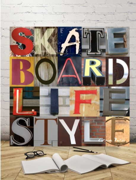 SKATE BOARD LIFE STYLE 01