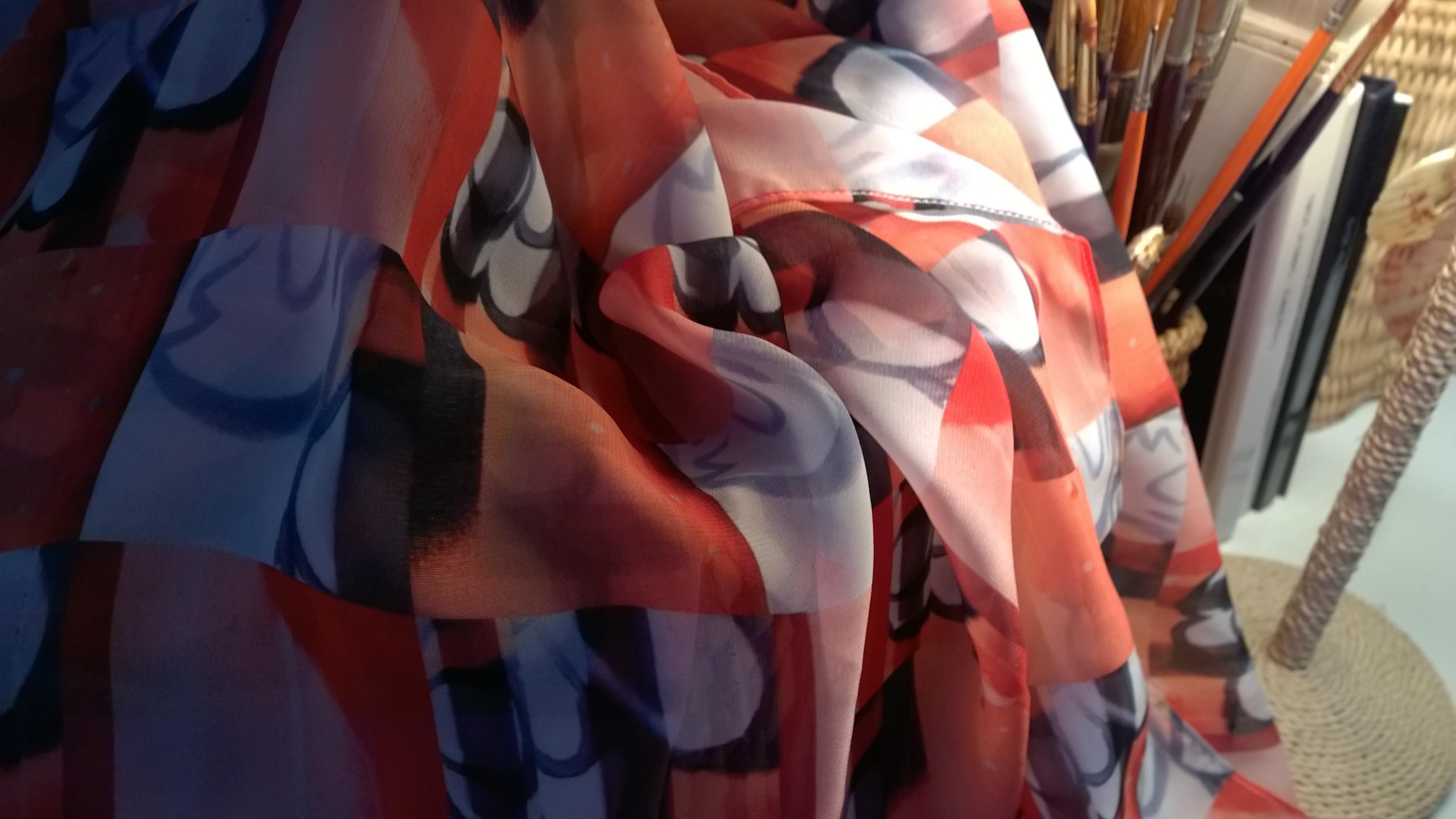foulard orange HRMS 37