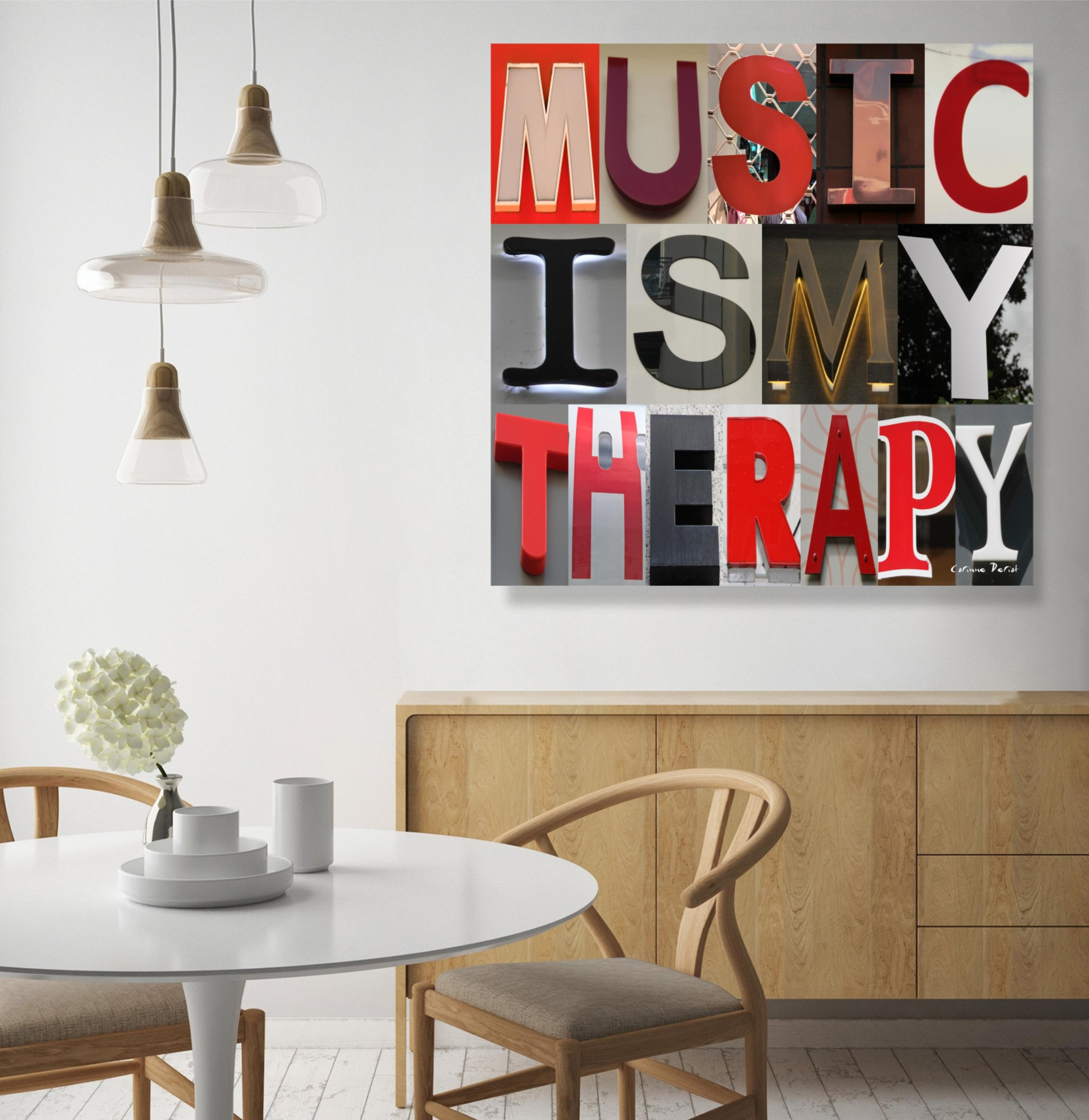 Music is my therapy 01