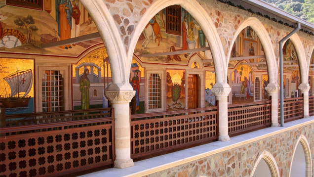 The Golden Girl of Kykkos monastery