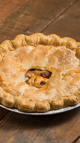 peach strewberry pie