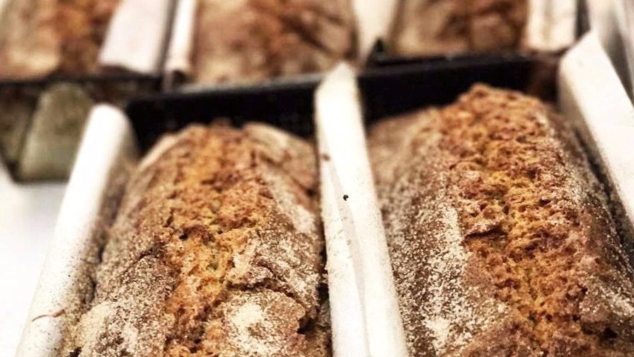 12 inch Zucchini Bread
