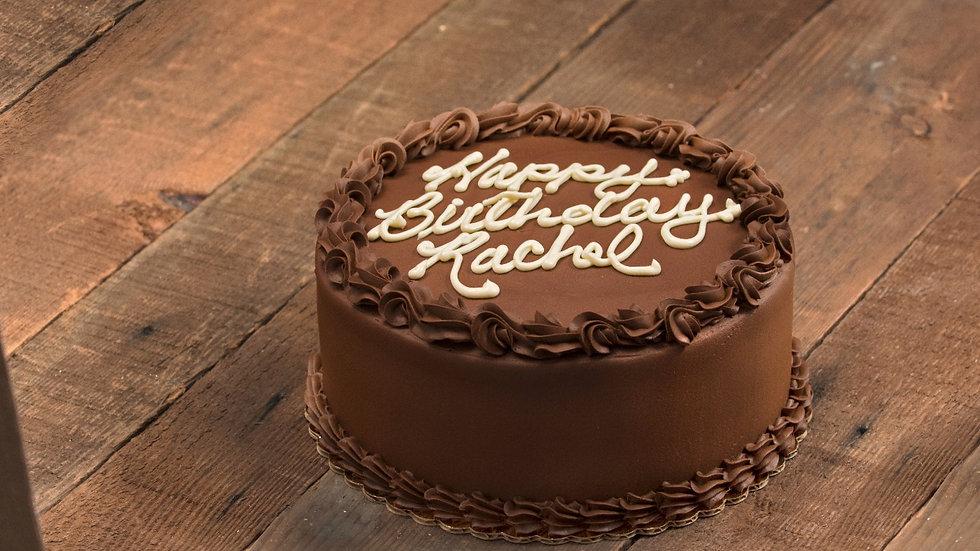 9 inch Chocolate Cake