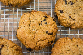 Oatmeal Raisin Bran Cookies