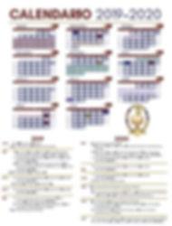 Calendario EBAM 2019-2020
