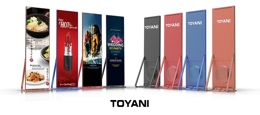 TOYANI LED Poster Screen 2 PIXEL