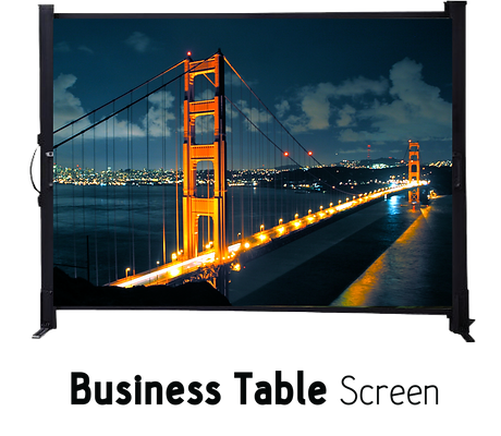 "WORLD Screen Bussiness Table 50"" x 50"""