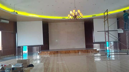 Photos of Our Project in RS Depok, THIS PHOTOS SHOW ABOUT OUR PROJECT THERE ITS ALL ABOUT VIDEO WALL TOYANI BUILT IN MATRIX