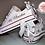 Thumbnail: Wedding Low Top Converse Bridal Shoes