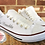 Thumbnail: Personalised Wedding Converse Style Pumps