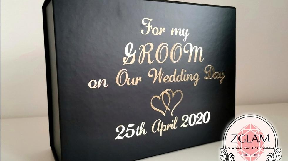 Personalised Groom Box