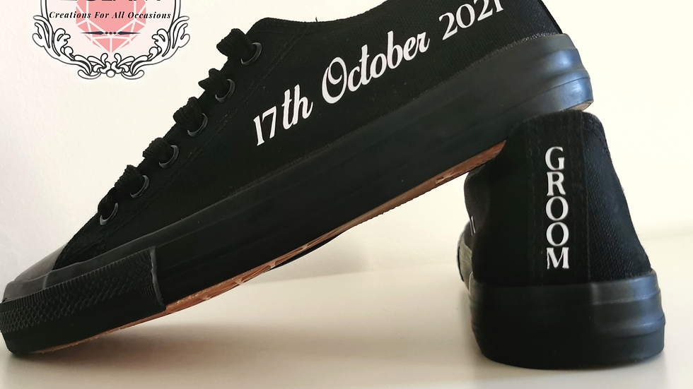 Groom Converse Style Trainers