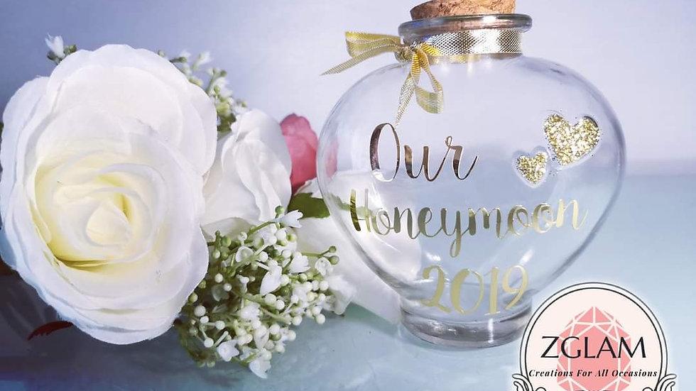Personalised Honeymoon Sand Bottle