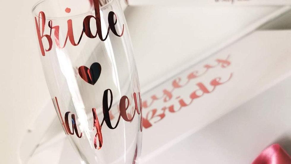 Personalised Wedding Gift Set