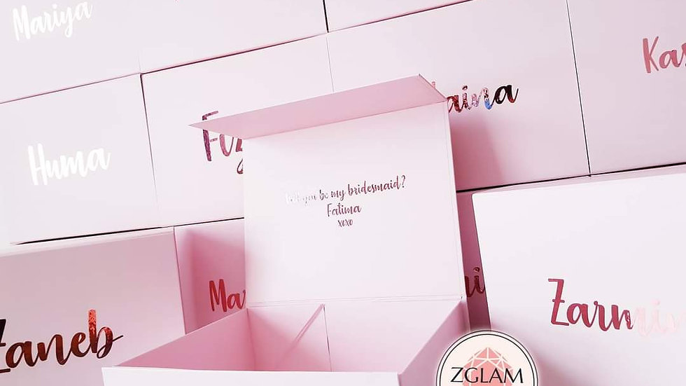 Personalised Luxury Gift Boxes