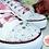Thumbnail: Wedding Converse Style Pumps