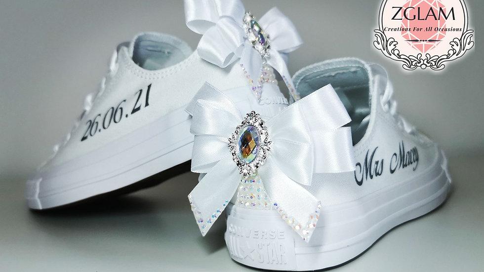 Wedding Low Top Mono Converse