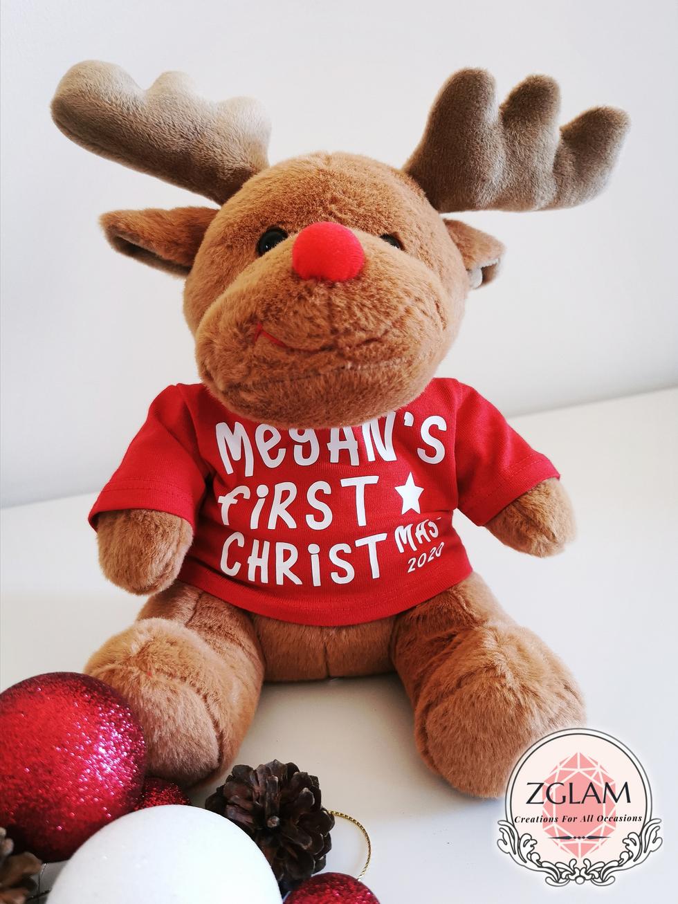 First Christmas Reindeer