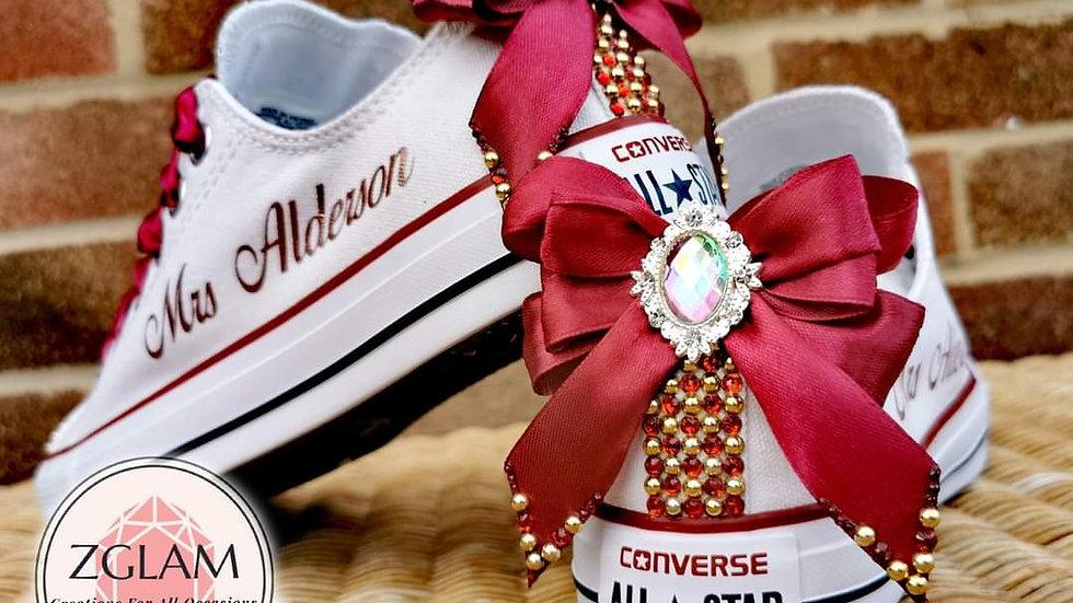 Wedding Low Top Converse