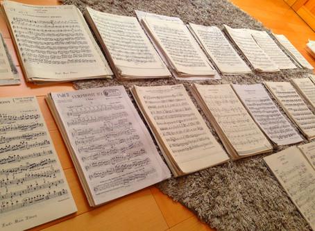 楽譜の整理