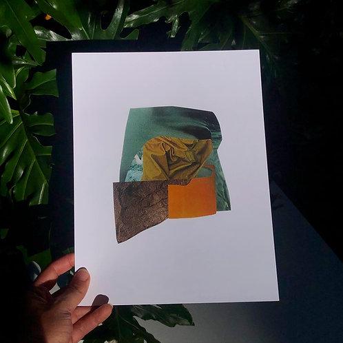 orange peel print