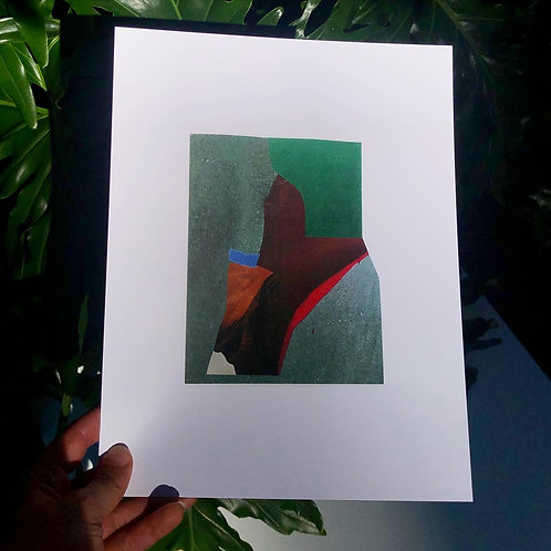 red edge print