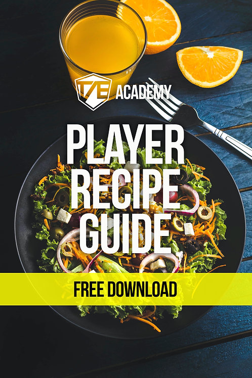 Player Nutrition Guide