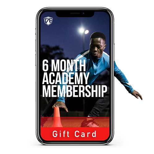 6 Months Academy gift card